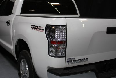 Toyota Tundra 2007-2013 Clear LED Tail Lights