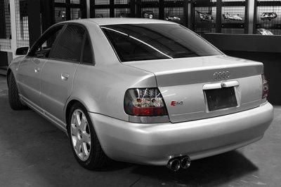 Audi A4 1996-2001 Black LED Tail Lights