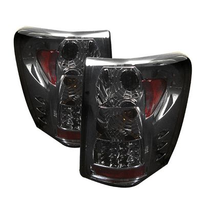 Jeep Grand Cherokee 1999-2004 Smoked LED Tail Lights