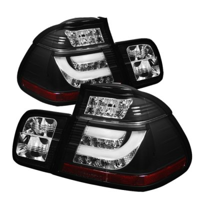 Bmw 3 Series E46 Sedan 2002 2005 Black Led Tail Lights A1037v0y109 Topgearautosport