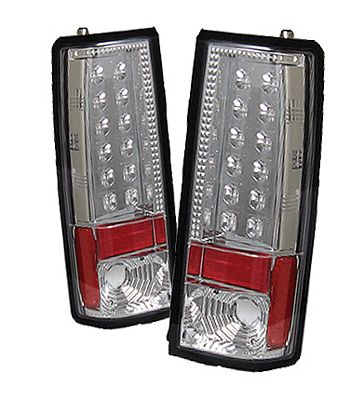 Chevy Astro 1985-2004 Clear LED Tail Lights