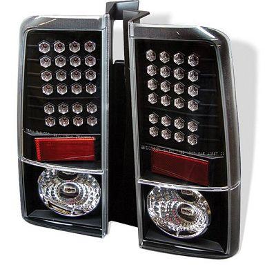 Scion xB 2003-2006 Black LED Tail Lights