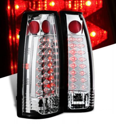 Chevy Blazer Full Size 1992-1994 Clear LED Tail Lights