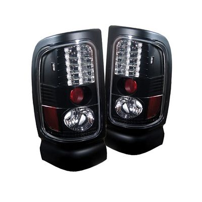 Dodge Ram 1994-2001 Black LED Tail Lights