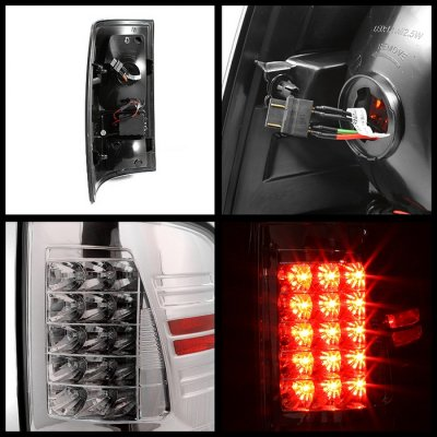 Dodge Ram 2009-2015 Chrome LED Tail Lights