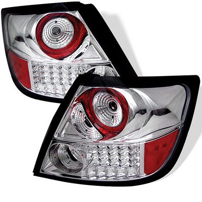 Scion tC 2005-2010 Clear LED Tail Lights