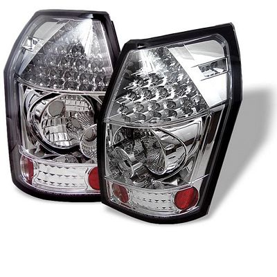 Dodge Magnum 2005-2008 Clear LED Tail Lights