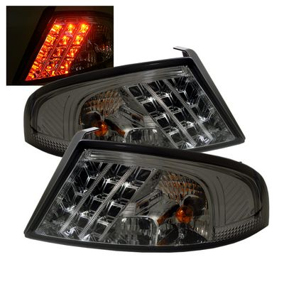 Dodge Stratus 2001-2006 Smoked LED Tail Lights