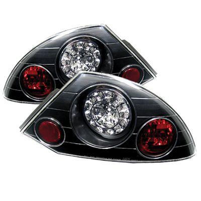 Mitsubishi Eclipse 2000-2005 Black LED Tail Lights