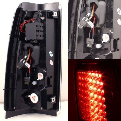 Chevy Silverado 1999-2002 Smoked LED Tail Lights