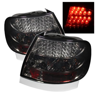 Audi A4 1996-2001 Smoked LED Tail Lights