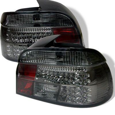 BMW E39 5 Series 1997-2000 Smoked LED Tail Lights