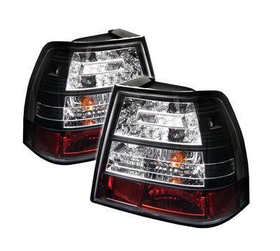 VW Jetta 1999-2004 Black LED Tail Lights