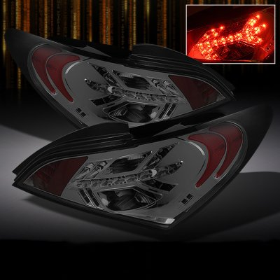 Hyundai Genesis Coupe 2010 2011 Smoked Led Tail Lights