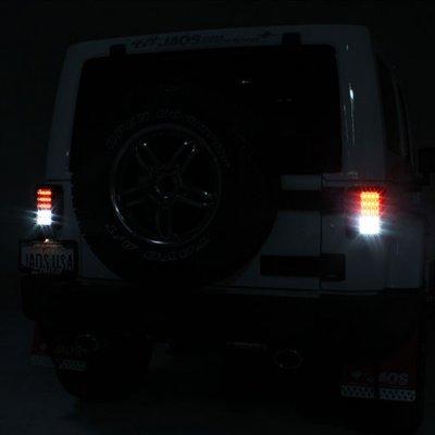 Jeep Wrangler JK 2007-2015 Clear LED Tail Lights