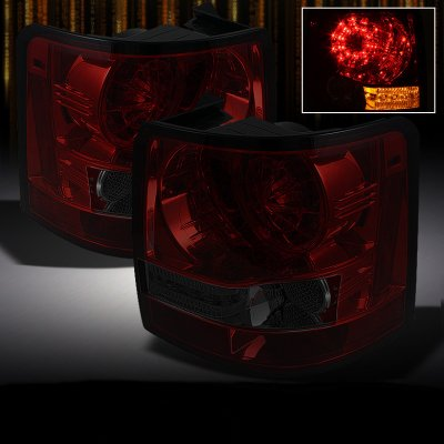 Land Rover Range Rover Sport 2006-2009 Red and Smoked LED Tail Lights