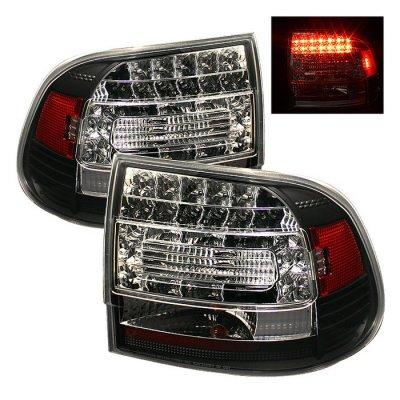 Porsche Cayenne 2003-2007 Black LED Tail Lights