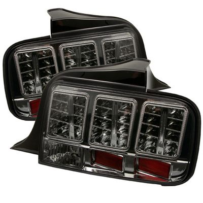 Ford Mustang 2005-2009 Smoked LED Tail Lights