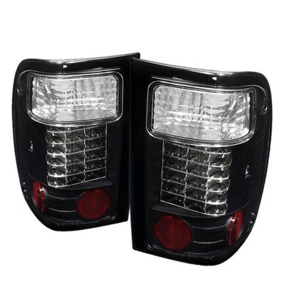 Ford Ranger 2001 2005 Black Led Tail Lights A103t20t109 Topgearautosport
