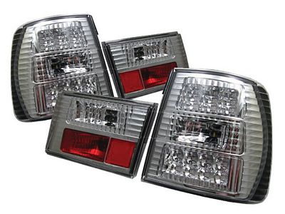BMW E34 5 Series 1988-1995 Clear LED Tail Lights