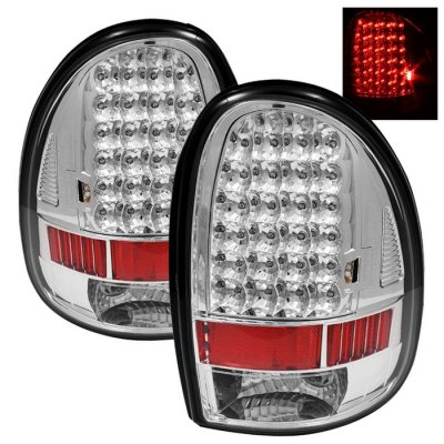Dodge Durango 1998 2003 Clear Led Tail Lights A103ktey109 Topgearautosport