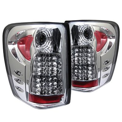 Jeep Grand Cherokee 1999-2004 Clear LED Tail Lights