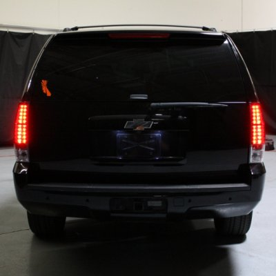 Chevy Tahoe 2007 2017 Red And Clear Led Tail Lights
