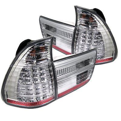 BMW E53 X5 2000 Clear LED Tail Lights