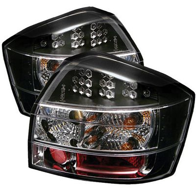 Audi A4 2002-2005 Black LED Tail Lights