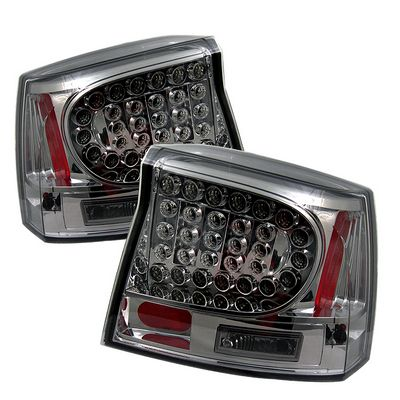 Dodge Charger 2006-2008 Smoked LED Tail Lights