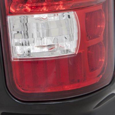 dodge ram 2500 1994 2002 red and clear led tail lights. Black Bedroom Furniture Sets. Home Design Ideas