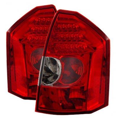 Chrysler 300 2005-2007 Red LED Tail Lights