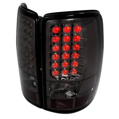 chevy tahoe 2000 2006 smoked led tail lights a1226s12109. Black Bedroom Furniture Sets. Home Design Ideas