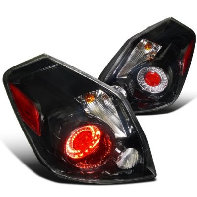Dodge Ram Bull Bar >> Nissan Altima Sedan 2007-2009 LED Tail Lights Black ...