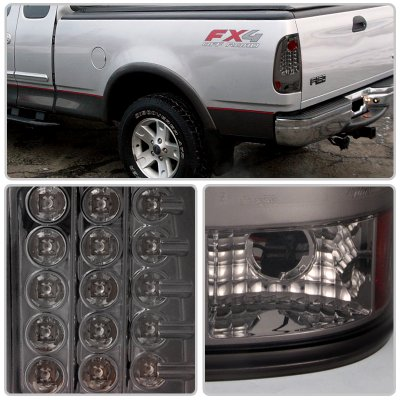 Ford F150 1997 2003 Smoked Led Tail Lights