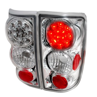 Oldsmobile Bravada 1996-2001 Clear LED Tail Lights