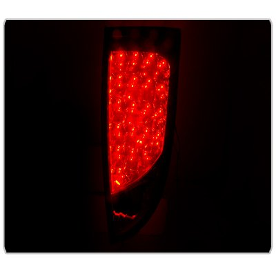 Ford Focus Hatchback 2000-2007 Smoked LED Tail Lights