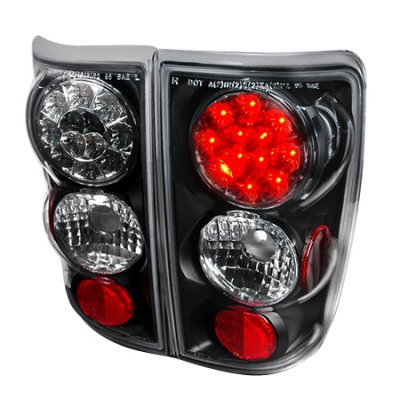 Chevy Blazer 1995-2004 Black LED Tail Lights