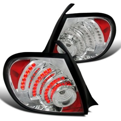 Dodge Neon 2003-2005 Chrome LED Tail Lights