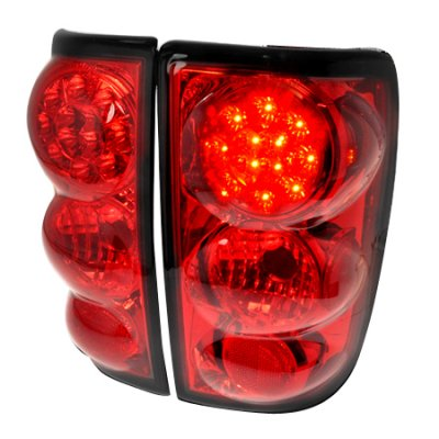 GMC Jimmy 1995-2004 Red LED Tail Lights