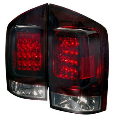 Nissan Armada 2004-2012 Red Smoked LED Tail Lights