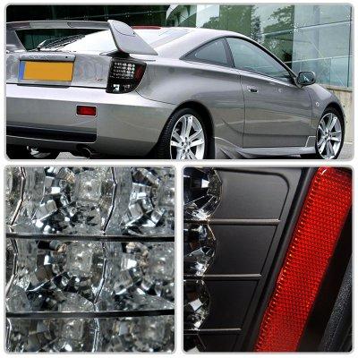 2003 Toyota Celica Gt >> Toyota Celica 2000-2005 Black LED Tail Lights ...