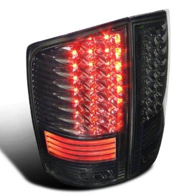 Dodge Ram 2500 2003 2005 Smoked LED Tail Lights