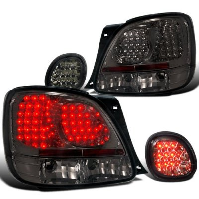 2005 Lexus GS300 Smoked LED Tail Lights with Trunk Lights