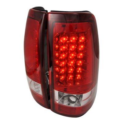 Chevy Silverado 2003-2006 Red LED Tail Lights