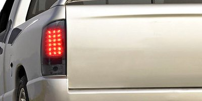 Dodge Ram 2500 2003-2005 Smoked LED Tail Lights