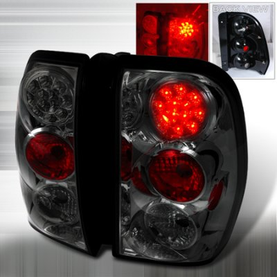 Chevy Trailblazer 2002 2009 Smoked Led Tail Lights A122vjb4109 Topgearautosport