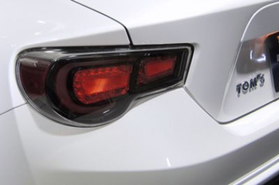 Subaru BRZ 2012-2014 Toms Black LED Tail Lights