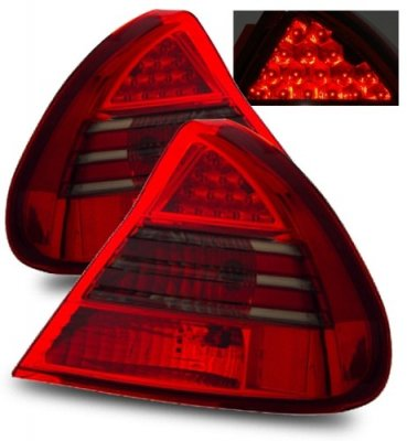 Mitsubishi Mirage 1999 2002 Led Tail Lights Red And Smoked