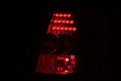 Chrysler 300C 2005-2007 Red LED Tail Lights